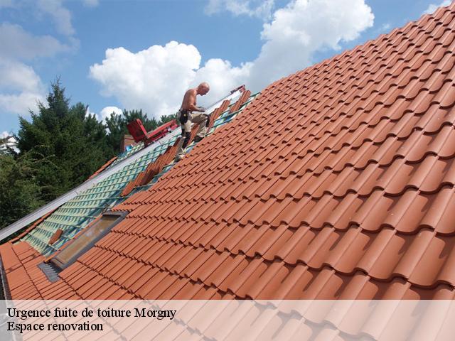 Réparation fuite de toiture à Morgny tél : 02.52.56.21.71